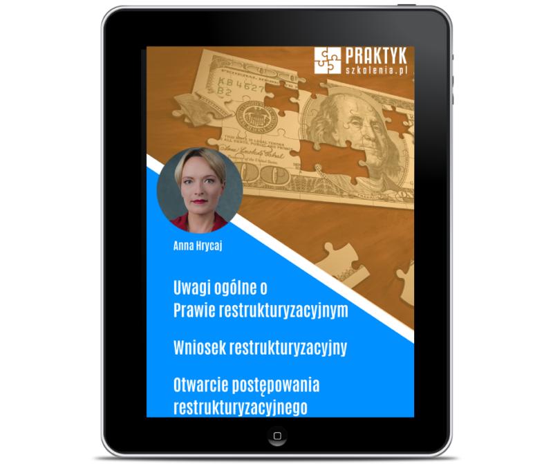 Darmowy e-book – Uwagi ogólne o Prawie restrukturyzacyjnym